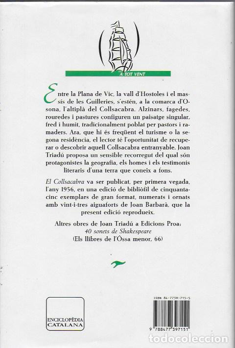 Libros de segunda mano: El Collsacabra / Joan Triadu; il. Joan Barbara. BCN : Proa, 1994. 24x16cm. 209 p. - Foto 5 - 113091511