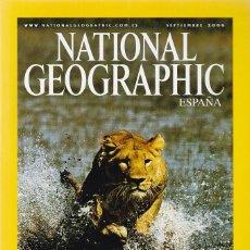 Libros de segunda mano: NATIONAL GEOGRAPHIC - SEPTIEMBRE 2006 - LEONES. Lote 113257795
