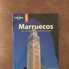 Libros de segunda mano: LONELY PLANET MARRUECOS. Lote 174585722