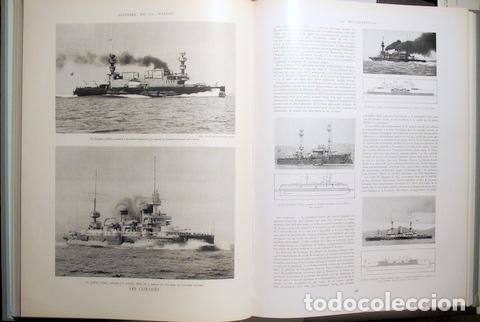 Libros de segunda mano: Toudouze, Georges et al. - HISTOIRE DE LA MARINE (2 vol. - Completo) - Paris 1966 - Ilustrado - Foto 3 - 113451539