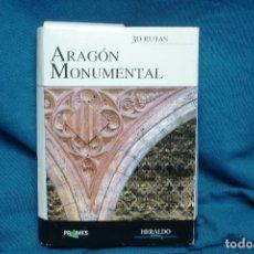 Libros de segunda mano: ARAGÓN MONUMENTAL - 30 RUTAS - HERALDO DE ARAGÓN - COMPLETO. Lote 113662755