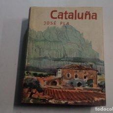 Libros de segunda mano: CATALUÑA - JOSÉ PLÀ - FOTOS DE RAMÓN DIMAS Y F. CATALÀ ROCA. Lote 113843712