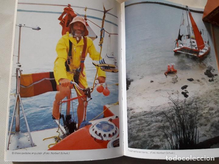 Libros de segunda mano: Dakar - Brasil. Supervivencia en el mar. Rüdiger Nehberg. Ed. Martínez Roca. Barcelona. 1989 - Foto 5 - 115300519