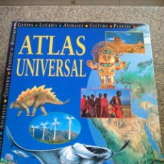 Libros de segunda mano: ATLAS UNIVERSAL -- 1997 -- . Lote 115324255