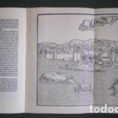 Libros de segunda mano: BERNARDO DE BREIDENBACH: VIAJE DE LA TIERRA SANTA. FACSÍMIL DE LA ED. DE 1498. Lote 117003347