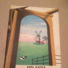 Libros de segunda mano: ANTIGUO LIBRO DE GUIA DE VIAJES HOLANDA POR NEGOCIOS Y POR PLACER AÑOS 50-60 . Lote 117684975