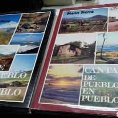 Libros de segunda mano: CANTABRIA DE PUEBLO EN PUEBLO.MANN SIERRA.2 TOMOS.I Y II.1980.1981. Lote 117759886