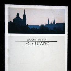 Libros de segunda mano: PRAGA - TERESA PAMIES - LAS CIUDADES - DESTINO. Lote 118229603