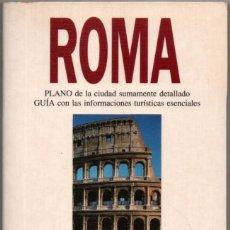 Libros de segunda mano: PLANO Y GUIA - ROMA - ILUSTRADO - 1994 *. Lote 118568027