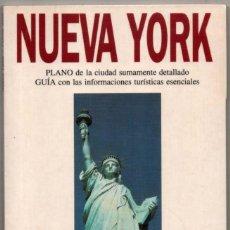 Libros de segunda mano: PLANO Y GUIA - NUEVA YORK - ILUSTRADA - 1994 *. Lote 118569083