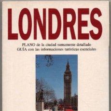 Libros de segunda mano: PLANO Y GUIA - LONDRES - ILUSTRADA - 1994 *. Lote 118569259