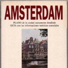 Libros de segunda mano: PLANO Y GUIA - AMSTERDAM - ILUSTRADA - 1994 *. Lote 118569443
