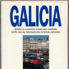 Libros de segunda mano: MAPA Y GUIA - GALICIA - ILUSTRADO - 1993 *. Lote 118570403
