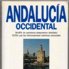 Libros de segunda mano: MAPA Y GUIA - ANDALUCIA OCCIDENTAL - ILUSTRADA - 1993 *. Lote 118571027