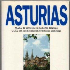 Libros de segunda mano: MAPA Y GUIA - ASTURIAS - ILUSTRADA - 1993 *. Lote 118571199