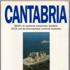 Libros de segunda mano: MAPA Y GUIA - CANTABRIA - ILUSTRADA - 1993 *. Lote 118571883
