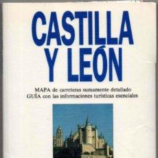 Libros de segunda mano: MAPA Y GUIA - CASTILLA Y LEON - ILUSTRADA - 1993 *. Lote 118571995