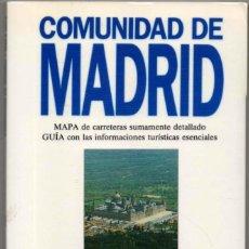 Libros de segunda mano: MAPA Y GUIA - COMUNIDAD DE MADRID - ILUSTRADA - 1993 *. Lote 118572279