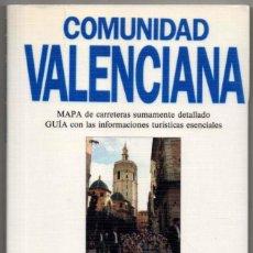 Libros de segunda mano: MAPA Y GUIA - COMUNIDAD VALENCIANA - ILUSTRADA - 1993 *. Lote 118572431