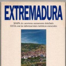 Libros de segunda mano: MAPA Y GUIA - EXTREMADURA - ILUSTRADA - 1994 *. Lote 118572559