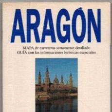 Libros de segunda mano: MAPA Y GUIA - ARAGON - ILUSTRADA - 1994 *. Lote 118572715