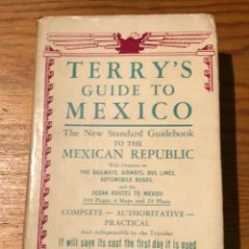 Libros de segunda mano: TERRY´S GUIDE TO MEXICO(37€). Lote 118730783