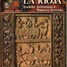 Libros de segunda mano: LA RIOJA - TESOROS ARTISTICOS Y RIQUEZA VINICOLA - ILUSTRADO - 1981 *. Lote 119083879