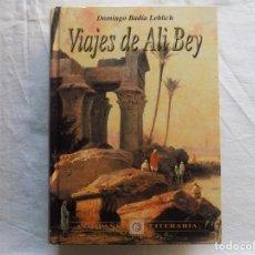 Libros de segunda mano: LIBRERIA GHOTICA. BADIA LEBLICH. VIAJES DE ALI BEY. 1996. ILUSTRADO CON LOS ANTIGUOS GRABADOS. Lote 119274151