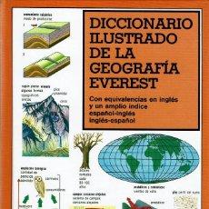 Libros de segunda mano: DICCIONARIO ILUSTRADO DE GEOGRAFÍA. TAPA DURA. Lote 119555771