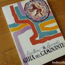 Libros de segunda mano: MARIANO D BERRUETA - GUÍA DEL CAMINANTE EN LA CIUDAD DE LEÓN - LEÓN 1972 - SEGUNDA EDICIÓN. Lote 119634235