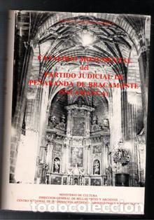 CATÁLOGO MONUMENTAL DEL PARTIDO JUDICIAL DE PEÑARANDA DE BRACAMONTE. ANTONIO CASASECA CASASECA (Libros de Segunda Mano - Geografía y Viajes)