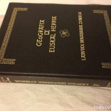 Libros de segunda mano: COLECCION TOMO GEOGRAFIA DE EUSKAL HERRIA. Lote 121530967