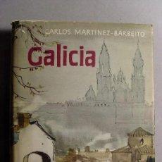 Libros de segunda mano: GALICIA / CARLOS MARTÍNEZ BARBEITO / 2ª EDICIÓN 1965. DESTINO. Lote 121678695