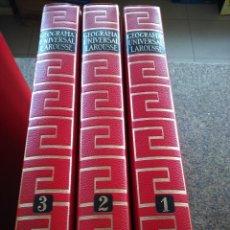 Libros de segunda mano - GEOGRAFIA UNIVERSAL LAROUSSE -- 3 TOMOS -- PLANETA 1971 -- - 122028187