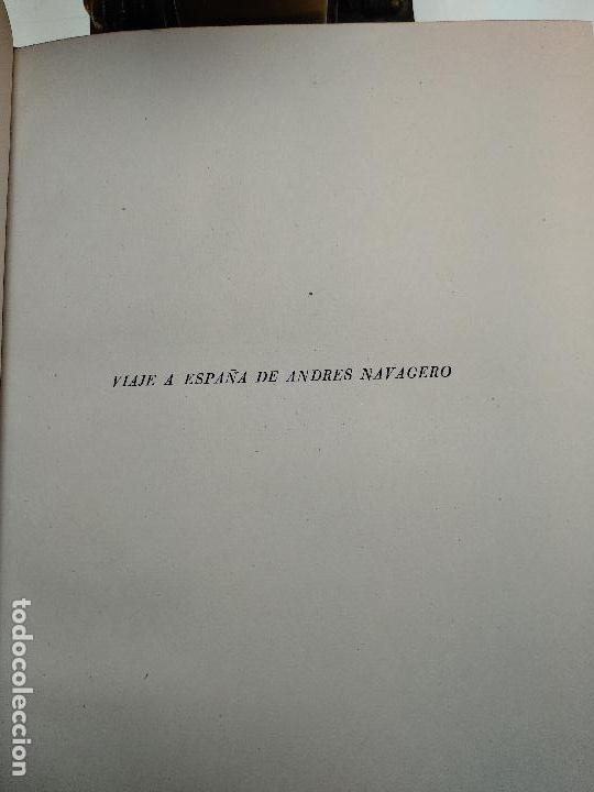Libros de segunda mano: VIAJE A ESPAÑA DEL MAGNÍFICO SEÑOR ANDRES NAVAGERO ( 1524-1526 ) - EDIT. CASTALIA - VALENCIA - 1951 - Foto 3 - 122185855