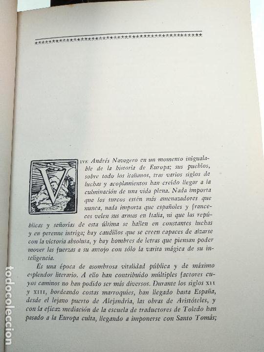 Libros de segunda mano: VIAJE A ESPAÑA DEL MAGNÍFICO SEÑOR ANDRES NAVAGERO ( 1524-1526 ) - EDIT. CASTALIA - VALENCIA - 1951 - Foto 5 - 122185855