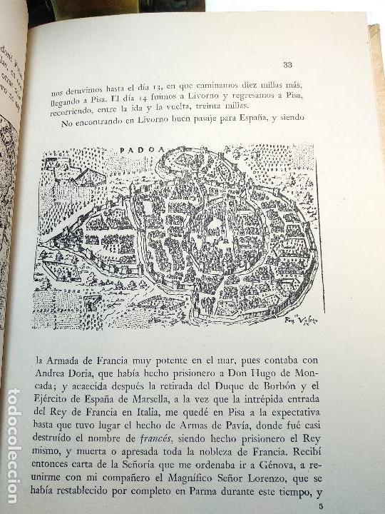 Libros de segunda mano: VIAJE A ESPAÑA DEL MAGNÍFICO SEÑOR ANDRES NAVAGERO ( 1524-1526 ) - EDIT. CASTALIA - VALENCIA - 1951 - Foto 6 - 122185855
