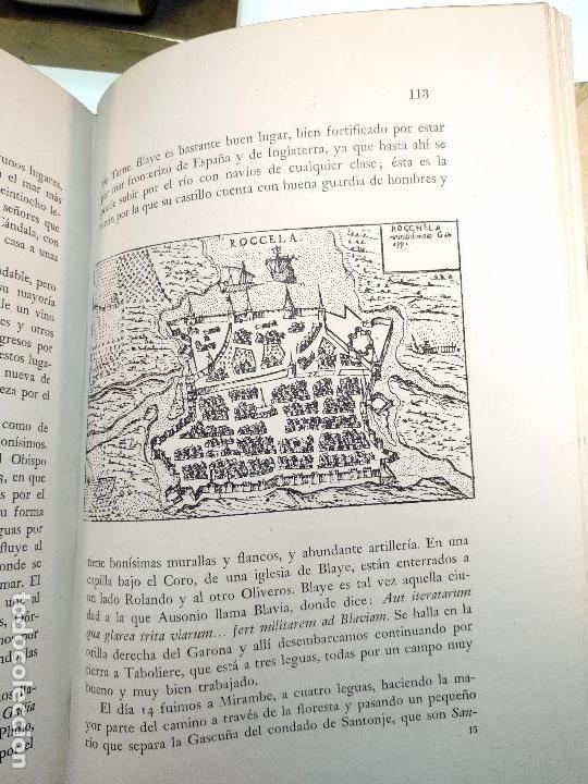Libros de segunda mano: VIAJE A ESPAÑA DEL MAGNÍFICO SEÑOR ANDRES NAVAGERO ( 1524-1526 ) - EDIT. CASTALIA - VALENCIA - 1951 - Foto 9 - 122185855