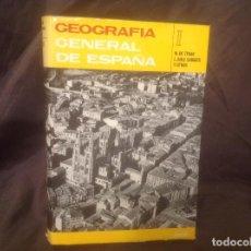 Libros de segunda mano: GEOGRAFÍA GENERAL DE ESPAÑA I, EDITORIAL ARIEL 1ª REEDICIÓN 1979 MUY BUEN ESTADO 549 PÁGINAS. Lote 122606415