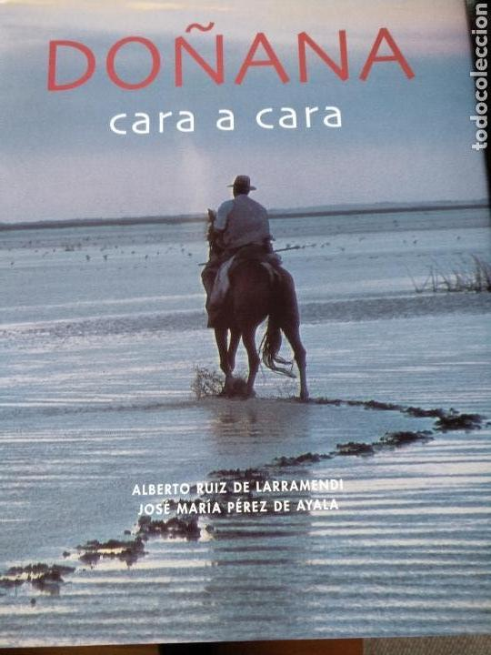 DOÑANA CARA A CARA (Libros de Segunda Mano - Geografía y Viajes)