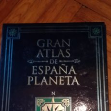 Libros de segunda mano: GRAN ATLAS DE ESPAÑA PLANETA. Lote 124076220