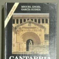 Libros de segunda mano: CANTABRIA. GUÍA ARTÍSTICA. 15 ITINERARIOS. MIGUEL ÁNGEL GARCÍA GUINEA. ESTVDIO (ESTUDIO) 1996 NUEVO. Lote 57128026