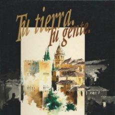 Libros de segunda mano: TU TIERRA, TU GENTE. COMARCAS DE ANDALUCÍA DE LA A A LA Z, TRES TOMOS SIN ENCUADERNAR. Lote 124476443