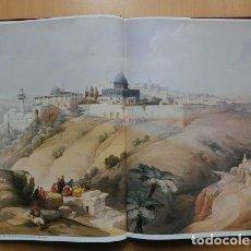 Libros de segunda mano: DAVID ROBERTS, TIERRA SANTA (LITOGRAFÍAS EN FACSÍMIL). Lote 154645214