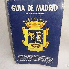 Libros de segunda mano: ANTIGUO LIBRO GUÍA DE MADRID AÑO 1968. Lote 125153339
