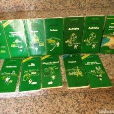 Libros de segunda mano: LOTE GUIAS MICHELIN VERDE AÑOS 80-90. Lote 125276736