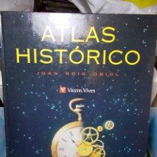 Libros de segunda mano: ATLAS HISTORICO VICENS VIVES 1995 NUEVO. Lote 125972891