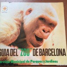 Libros de segunda mano: GUIA DEL ZOO DE BARCELONA. IMAGENES DE COPITO DE NIEVE. DIFICIL.. Lote 195531785