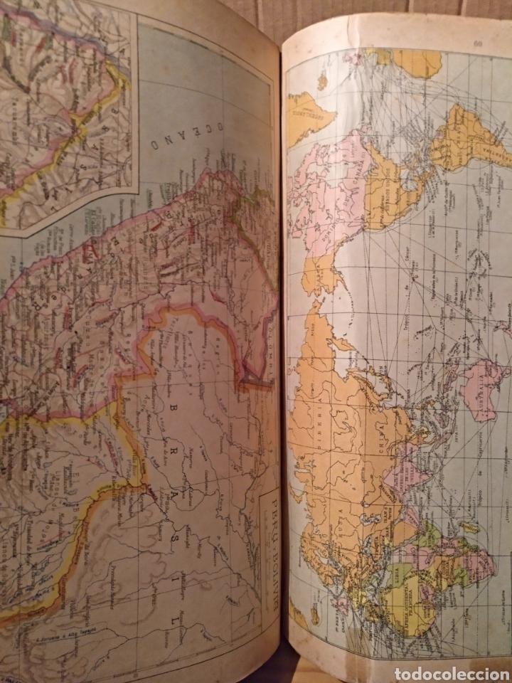 Libros de segunda mano: 1947. Atlas Geográfico Universal - Foto 2 - 127649238