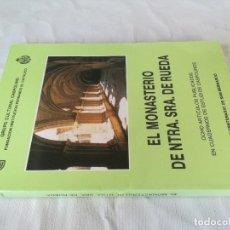 Libros de segunda mano: MONASTERIO NTRA SRA DE RUEDA-OCHO ARTICULOS PUBLICADOS CUADERNOS ESTUDIOS CASPOLINOS-ARAGON-ZARAGOZA. Lote 128159675